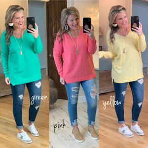 Just The Beginning Sweater *Final Sale*