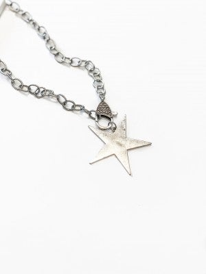 The Luna Necklace Silver