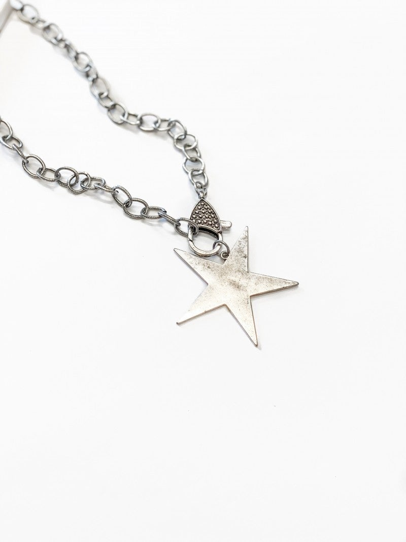 The Luna Necklace Silver
