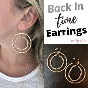 Back In Time Earrings