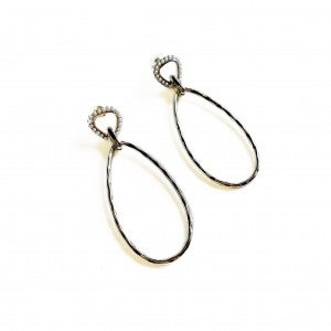 Never Miss Out Earrings Silver