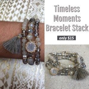 Timeless Moments Bracelet Stack