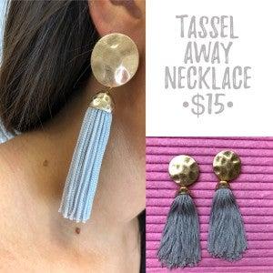 Tassel Away Earrings