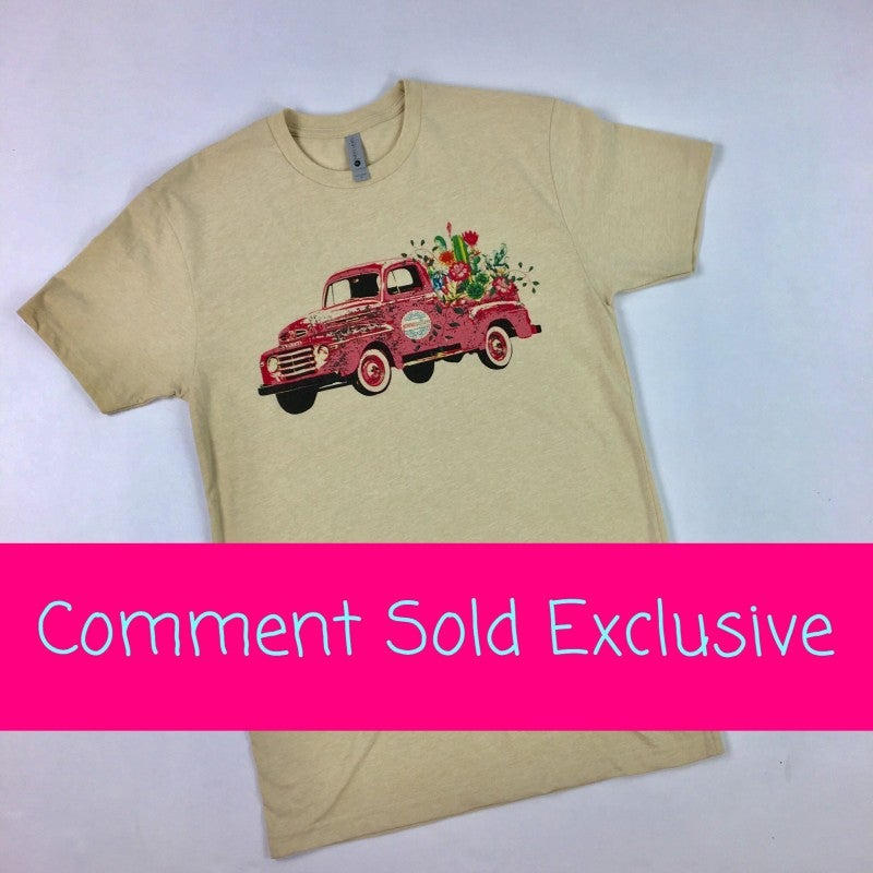 Jennaration Truck Graphic Tee