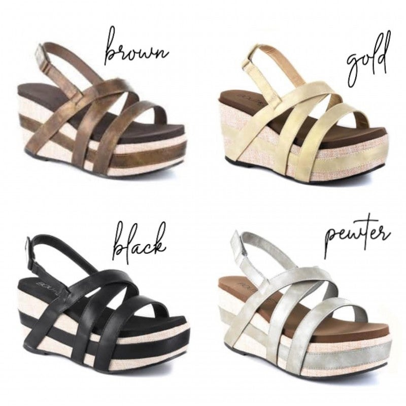 Show Your Style Wedges