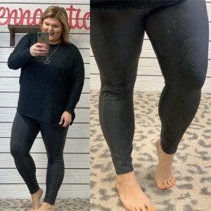 Sneak On By Plus Leggings