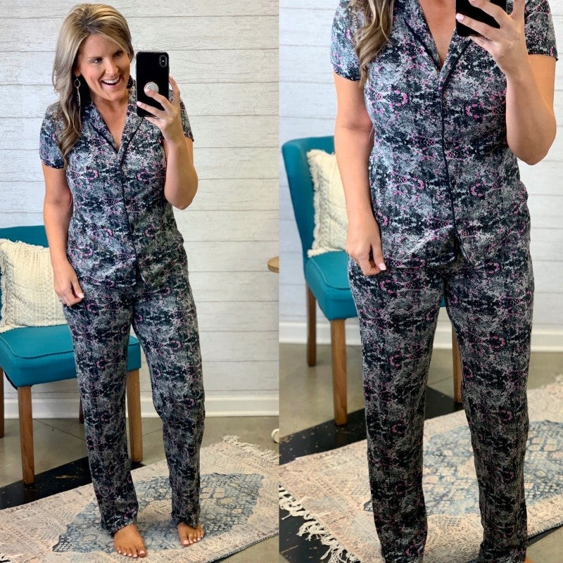 Sleep In Style PJ Set