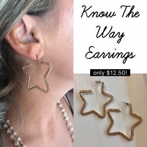 Know The Way Earrings