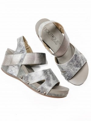 The Finley Wedge Pewter