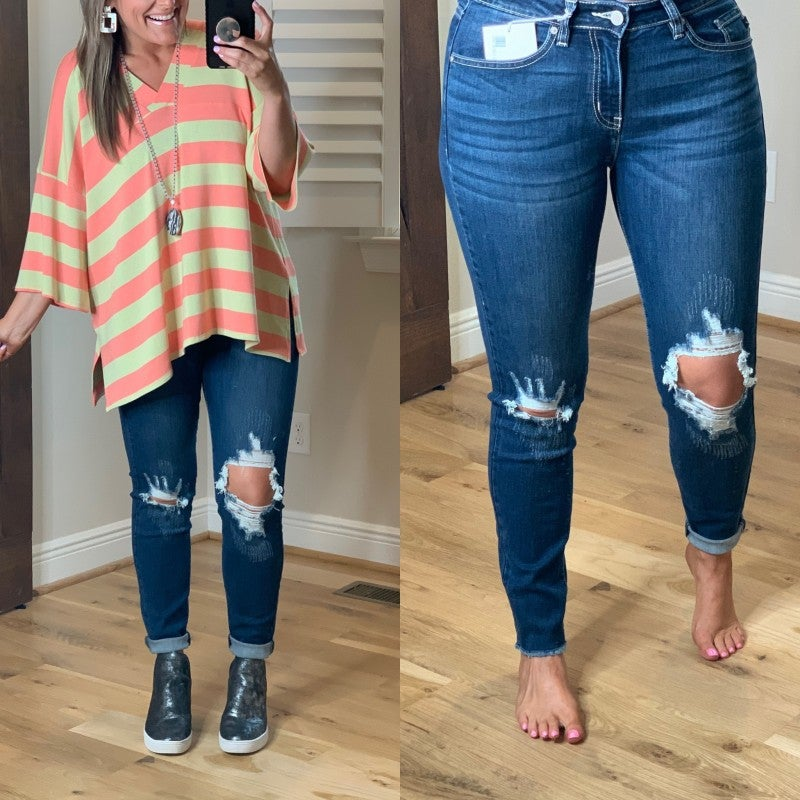 Let It Go Denim Skinny