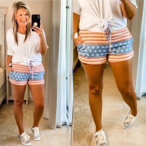 All About The USA Shorts