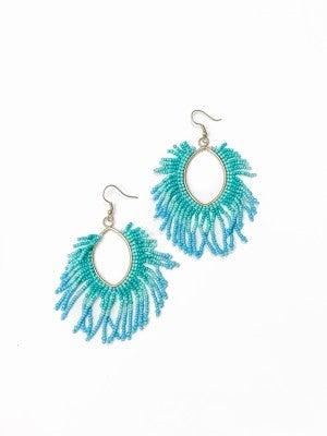 The Katelyn Earrings Turquoise