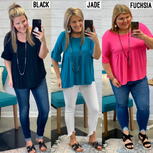 *Jump Into Spring Top *Final Sale*