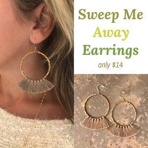 Sweep Me Away Earrings