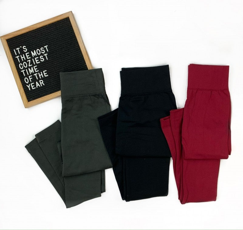 * Back In Time Fleece Leggings
