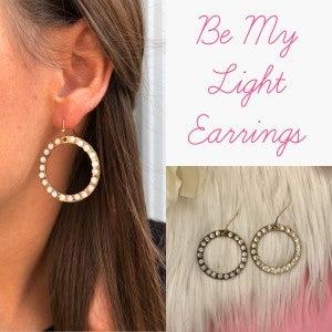 Be My Light Earrings