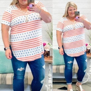 All American Babe Top Plus