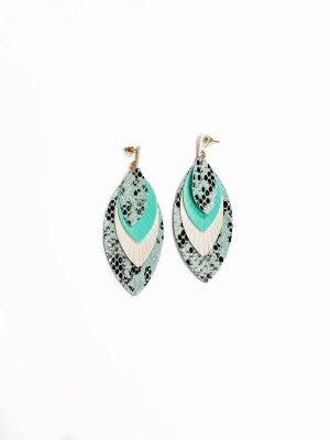 The Gail Earrings Mint