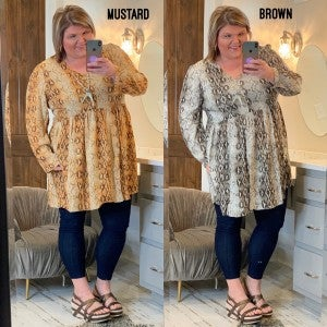 Never Miss A Beat Tunic Plus *Final Sale*