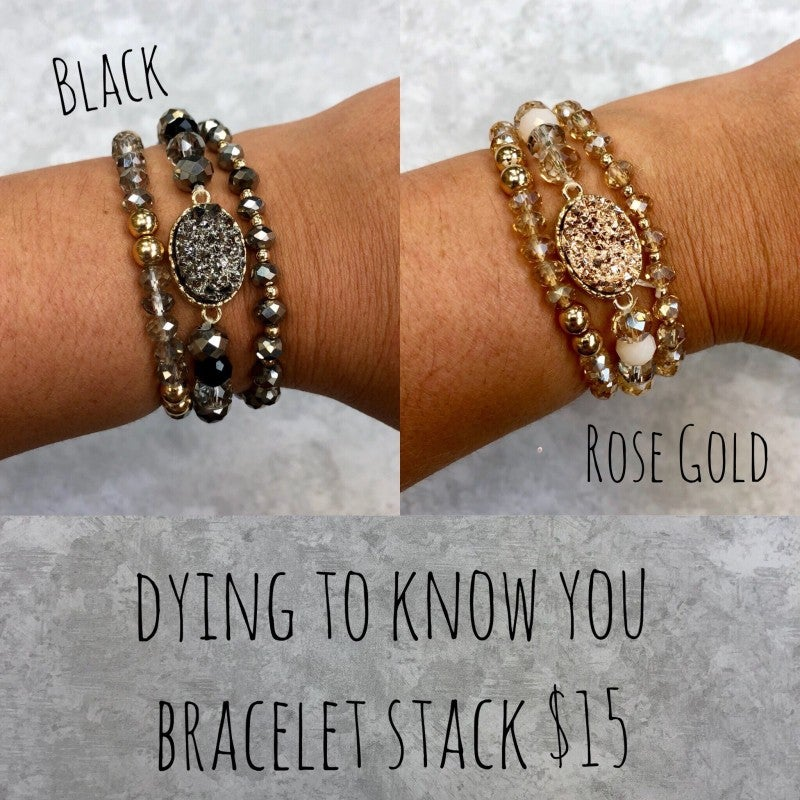 Dying To Know You Bracelet Stack