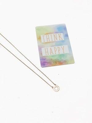 Think Happy Dainty