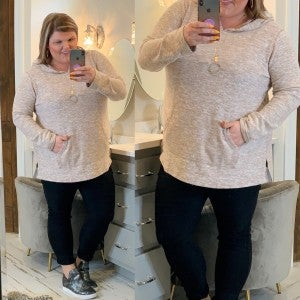 Brush With Fate Pullover Plus