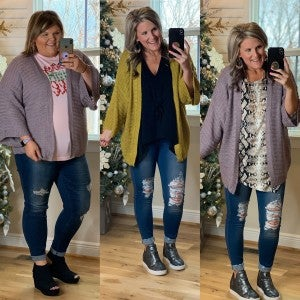 Cheers To You Cardigan *Final Sale*