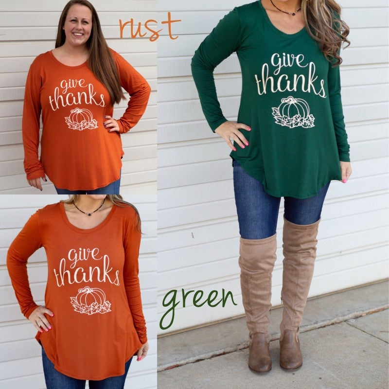 Give Thanks Graphic Tee