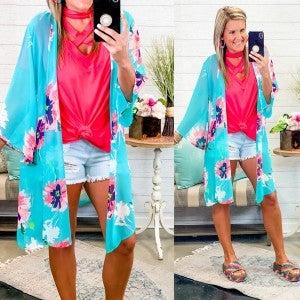 Imagine A New Start Kimono