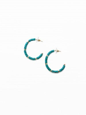 The Kellie Earrings Turquoise