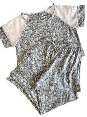 Don't Change It Up Pajama Set *Final Sale*