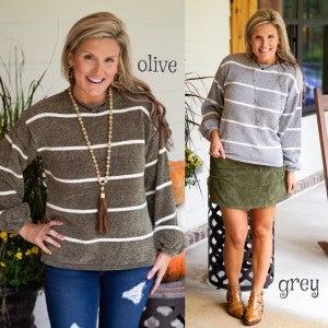 Cabin Cozy Sweater FINAL SALE