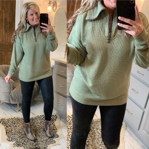 What A Time Pullover *Final Sale*