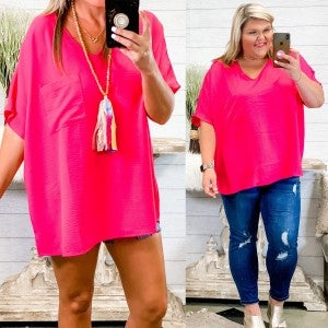 Sun Soaked Memories Top Pink