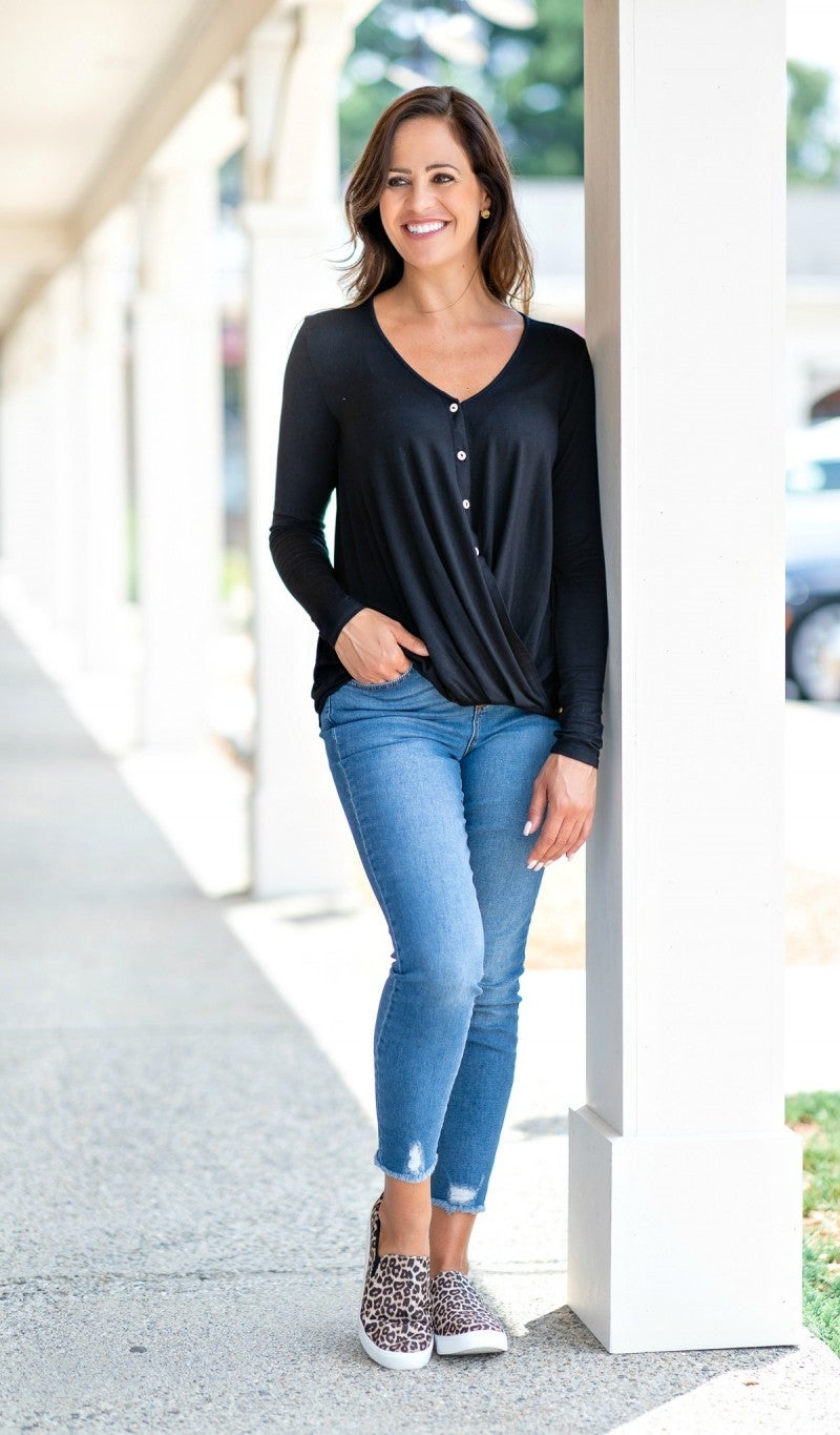 All Things Nice Top, Black