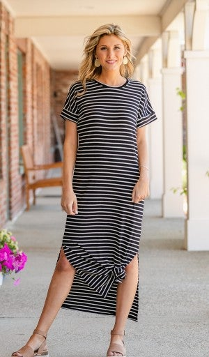 Stripes All Day Dress