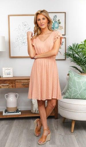 Love Of Details Dress, Blush