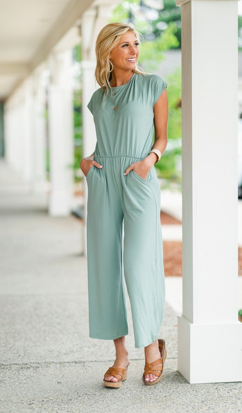 Summer Vacation Jumpsuit