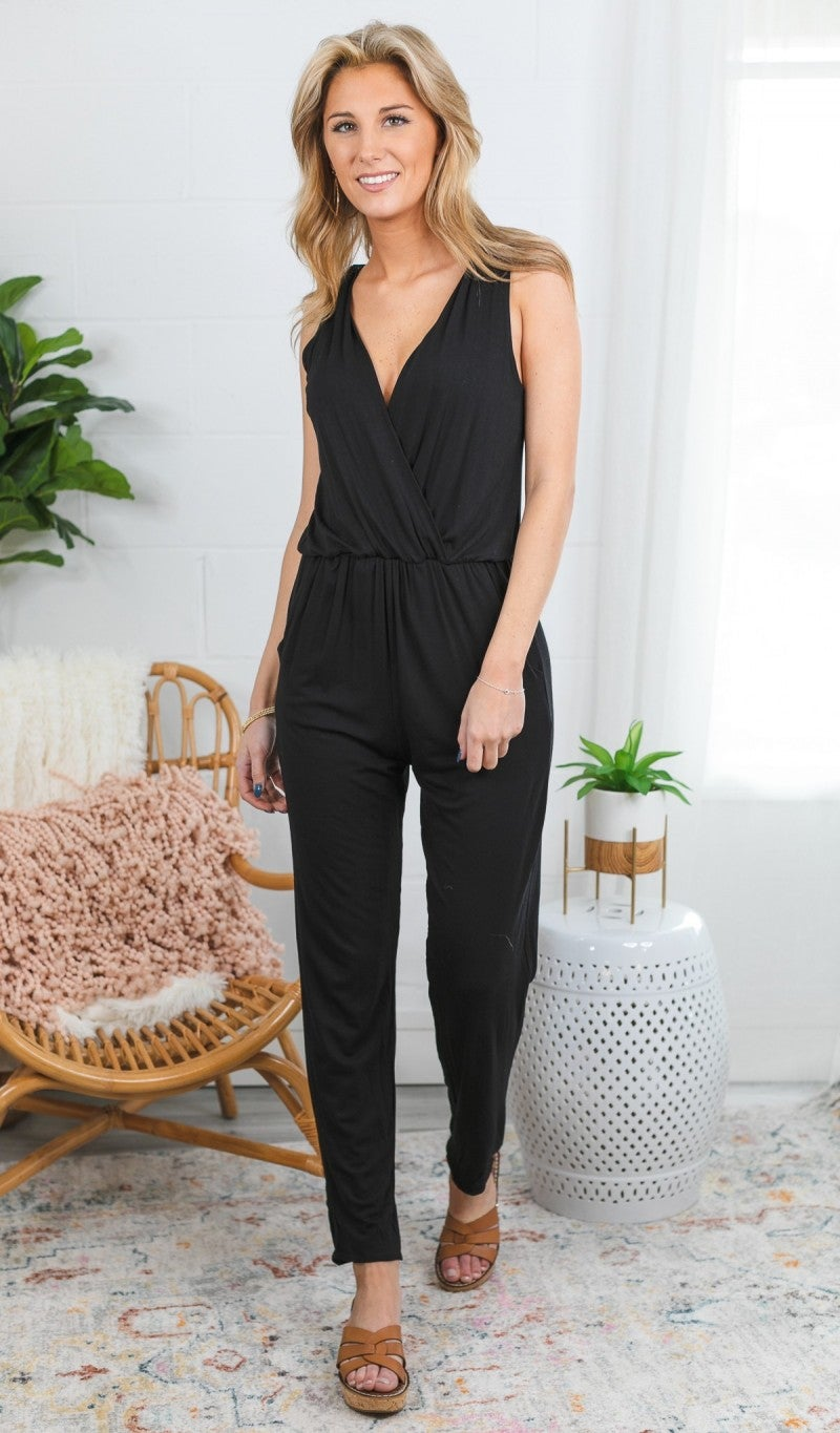 With You Jumpsuit, Black
