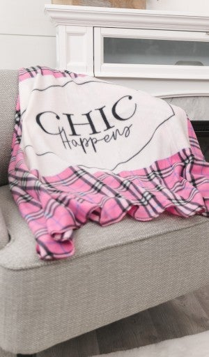 DOORBUSTER!!  Oh-So-Soft Fleece Blanket, Choose Your Graphic!