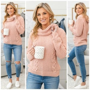 Perfect Touch Sweater, Pink *Final Sale*