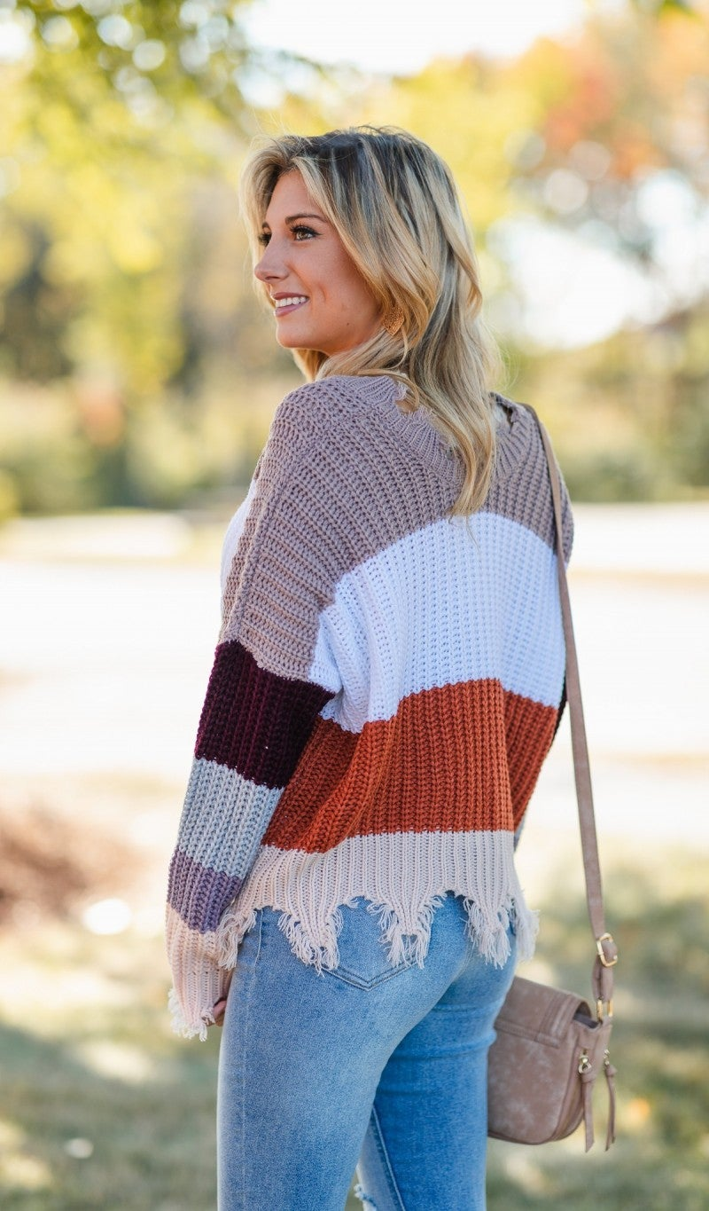 On The Edge Sweater