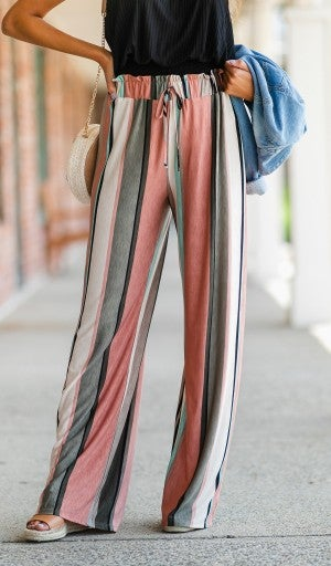 Life's A Cruise Striped Pant