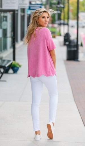 Summer Night Stroll Top- Blue or Pink