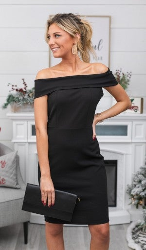 Moments Like This Dress, Black