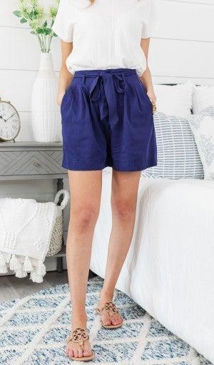 Summer Rush Shorts, Navy