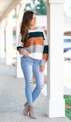 Fall Greetings Sweater, Multi