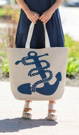 Love My Anchor Beach Bag