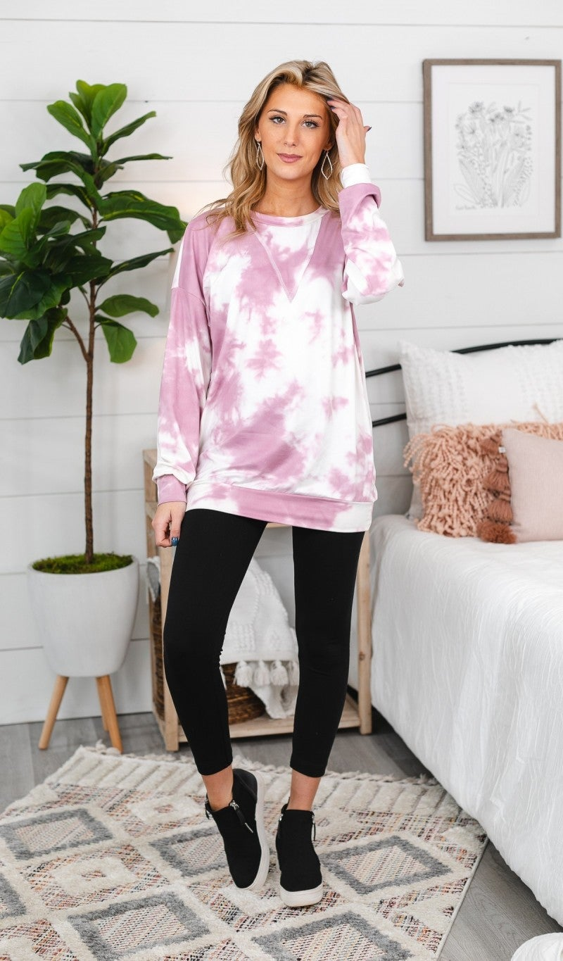 To Die For Tunic, Mauve