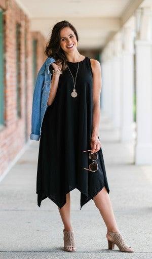 The Langston Dress, Black